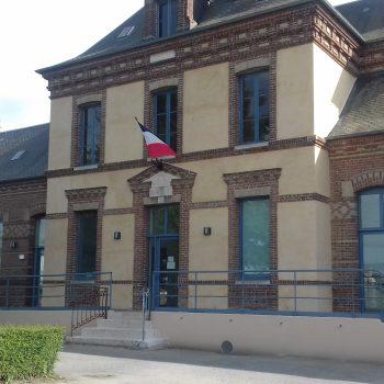 La Haye-Aubrée - Facade de la mairie