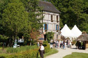 Moulin amour dans la vallée de l'Oison à Saint-Ouen de Pontcheuil