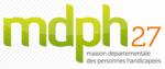 logo de la MDPH 27